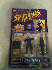 Spider-Man spider wars Black Cat Marvel Comics action figure Toy Biz 1996 toy