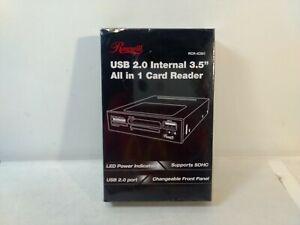 """Rosewill USB 2.0 Interne 3.5 """" Tout En 1 Carte Lecteur RCR-IC001 t5673"""