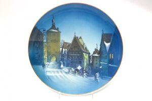 60-Rosenthal-Weihnachtsteller-Rothenburg-ob-der-Tauber
