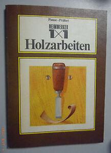 Heimwerker-1x1-Holzarbeiten-Fachbuch-M-Pause-u-W-Pruefert-Tischler-Schreiner