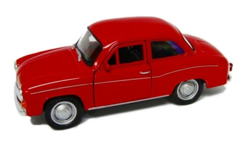 WELLY MODELL SYRENA 105 ROT Welly Modell PRL Auto 1:34-39 NEU /& OVP
