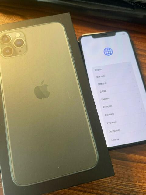 PERFECT Apple iPhone 11 Pro MAX - 256GB - MidnightGreen (UNLOCKED) A2161
