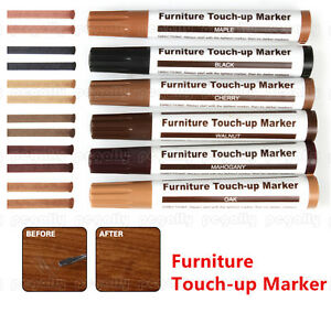 6 Color Furniture Touch Up Marker Pen Scratches Laminate