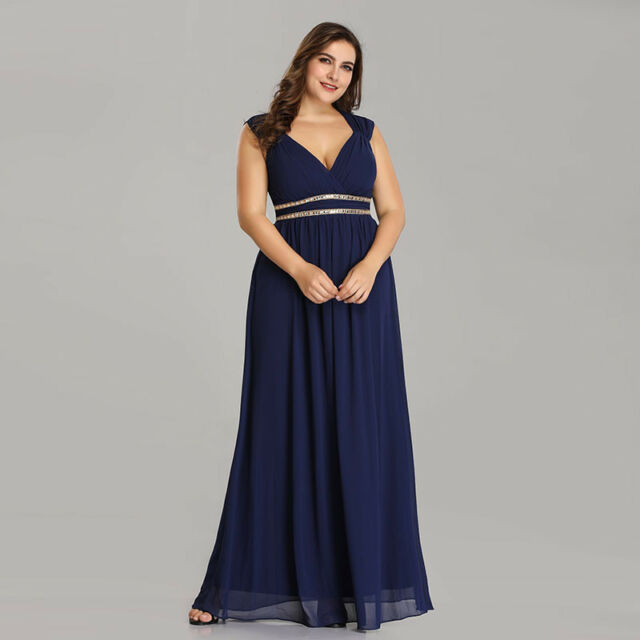 33122d682000b Ever-Pretty Evening Dress Beaded Wedding Formal Bridesmaid Party ...