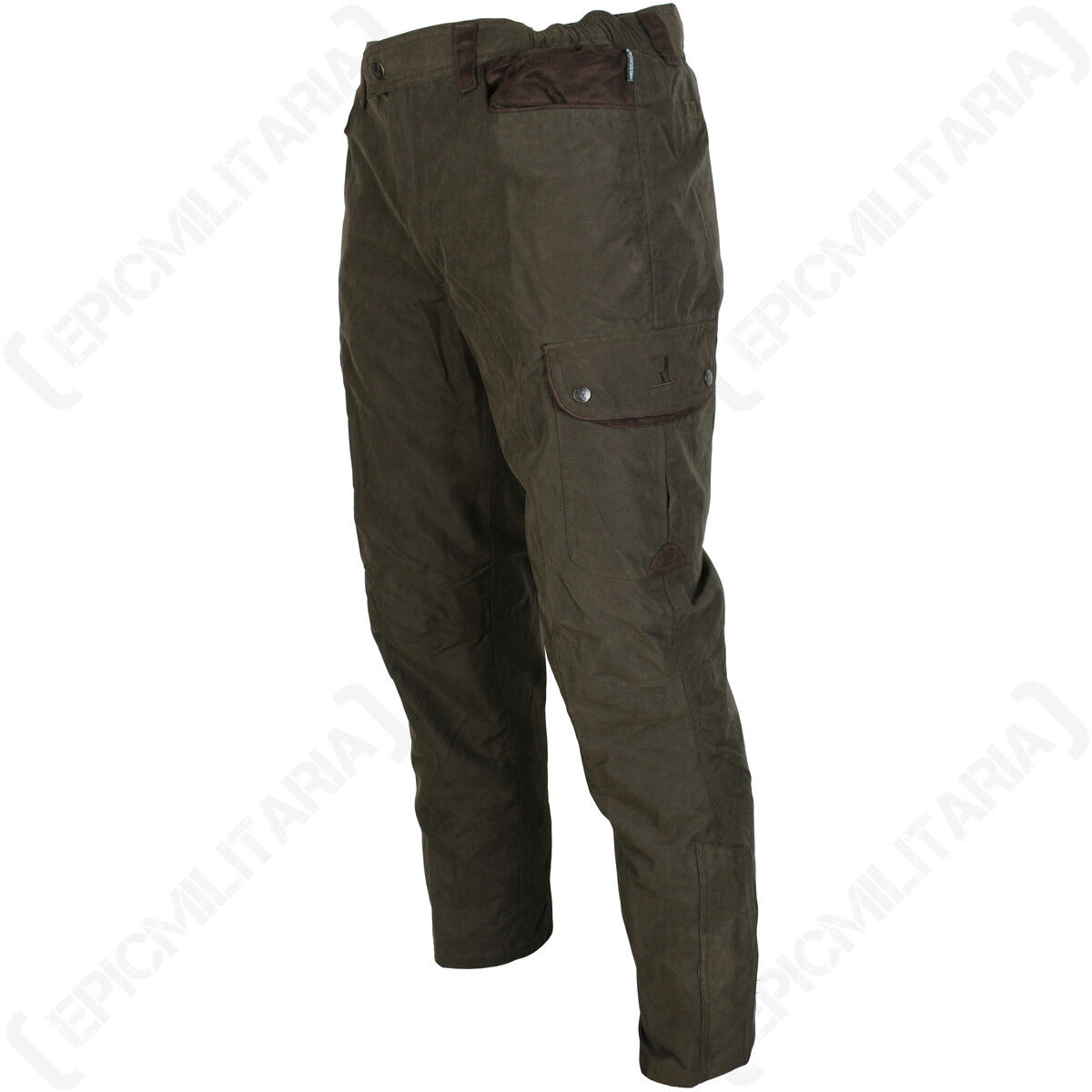 Percussion Normandie Tapered Hunting Trousers - Outdoor Waterproof Elastic New