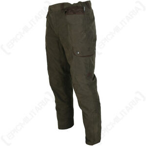 Percussion-Normandie-Tapered-Hunting-Trousers-Outdoor-Waterproof-Elastic-New
