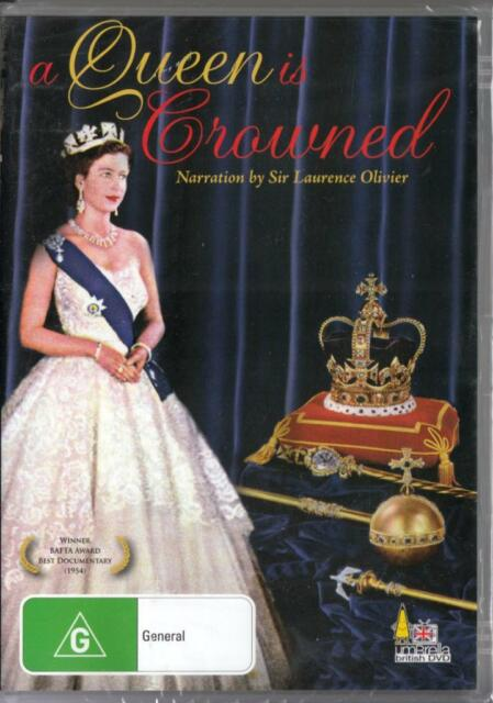 A QUEEN IS CROWNED -  NEW REGION 4 DVD FREE LOCAL POST