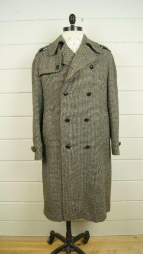 Vintage Invertere Mens Wool Black White Wool Weave