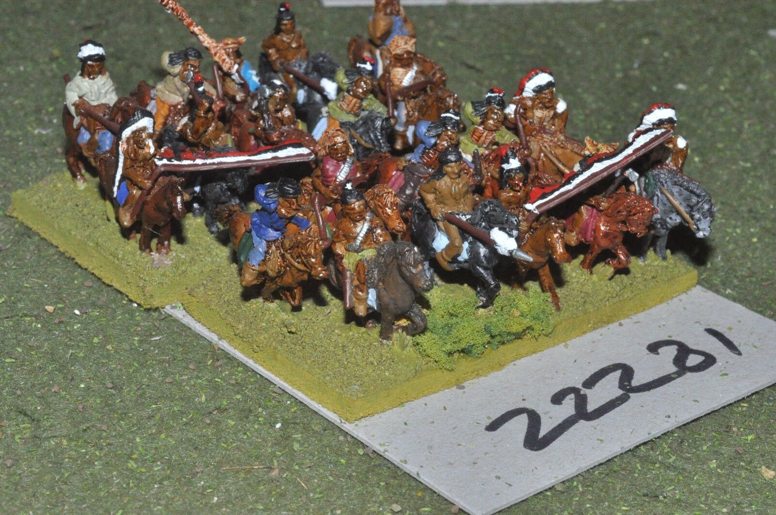 15mm ACW India-Old West guerreros de 20 figuras de Caballería-CAV (22281)
