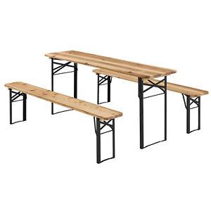 Bierzeltgarnitur-Festzeltgarnitur-Biertisch-Set-Garnitur-Sitzgruppe-Juskys