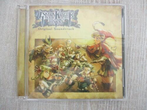 GRAND KNIGHTS HISTORY Art Set Visual Book w//Soundtrack CD PSP 2011 Ltd