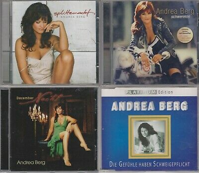 4 CD Collection Andrea Berg December Night, weightless