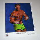 WWE Wrestler Charlie Haas Signed Autographed 8x10 Photo COA Free Shipping