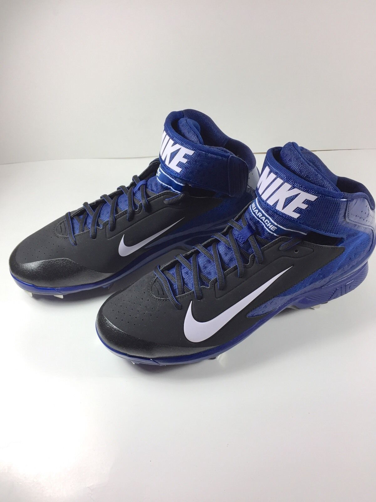 New Nike Air Huarache Mid Mens Pro Baseball Cleats Shoes Comfortable Comfortable and good-looking