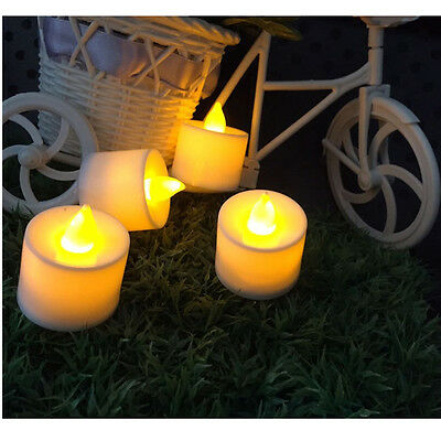 Color Flameless LED Tealight Tea Candles Wedding Light Battery Colorful Lamp
