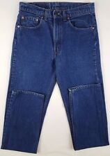 LEVIS Jeans 31 38 TALL Blue DENIM Vintage 505 XX Cotton LONG Mens USA Size VTG**