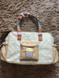 Baby Brand New Pink Lining Yummy Mummy Baby Changing Nappy Bag