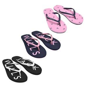 Mesdames-Jack-Wills-Classique-Confortable-Elland-Flip-Flop-Sandales-Tailles-3-To-8