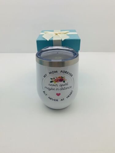 New! Mom Cup 12oz Stainless//Insulated//Gift Box Wine Tumbler