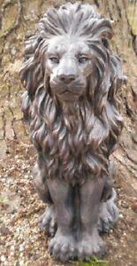 Latex-lion-concrete-mold-plaster-garden-statue-mould