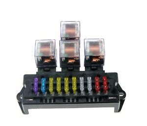 image is loading auto-fuse-box-relay-holder-6-relay-5-
