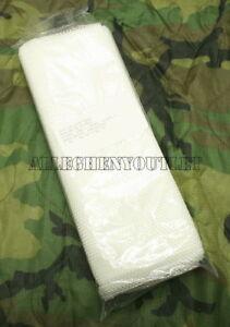 3- Snow White Camo Netting 5ft X 8ft Sniper Goose Blind Cover Ghillie Mesh NEW