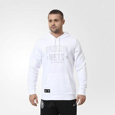 Adidas NBA Brooklyn Nets Basketball Washed Pullover Men's SweatsHoodie, XL | eBay