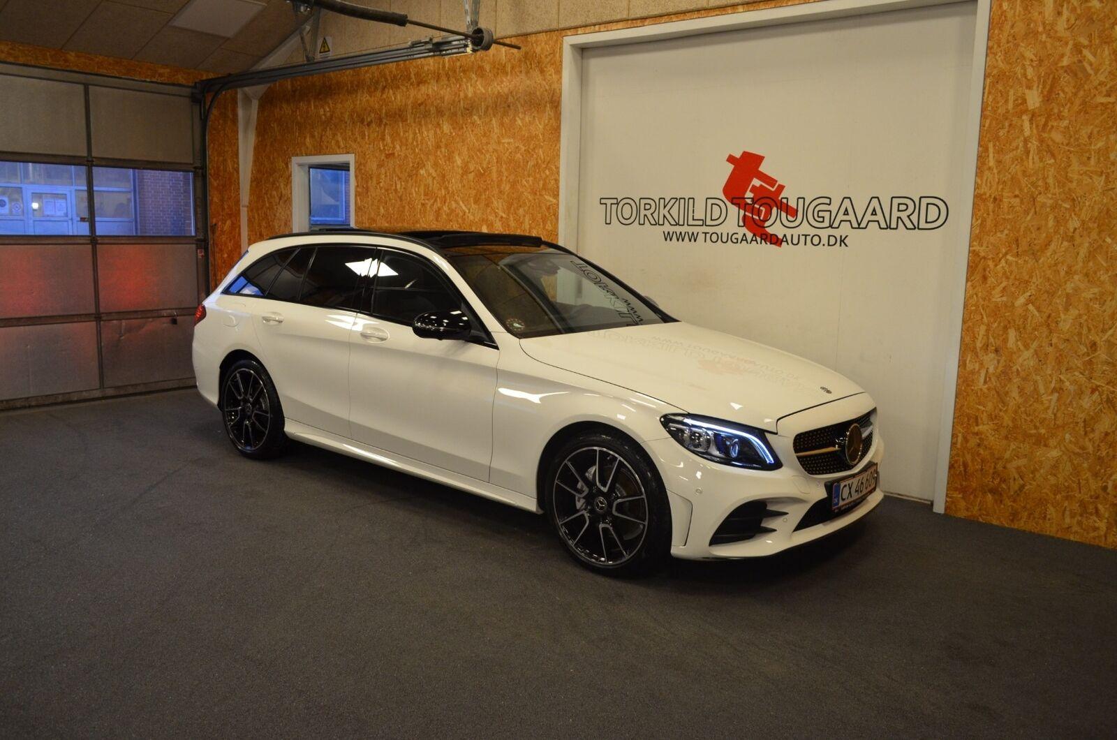 Mercedes C220 d 2,0 AMG Line stc. aut. 4-M 5d - 539.800 kr.