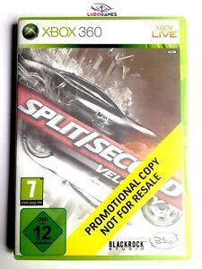 Split-Second-Velocity-Xbox-360-Neuf-Scelle-Promo-Produit-Nouveau-Pal-Eur