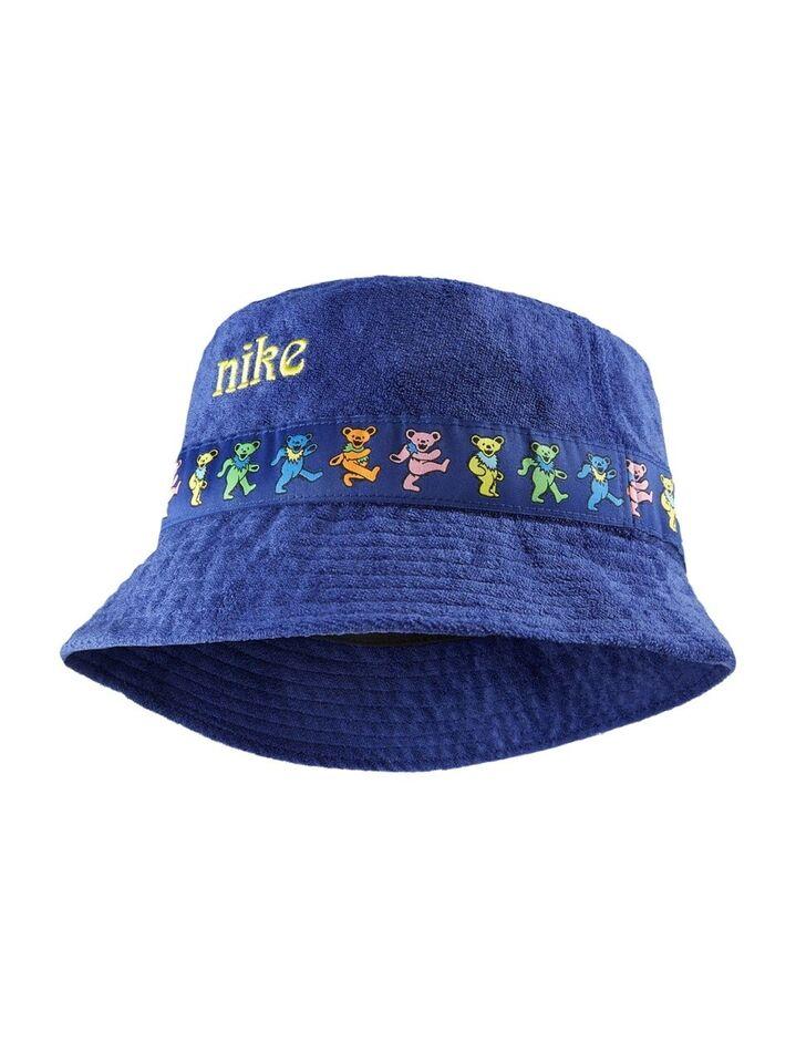 Hat, Nike x Grateful dead bucket hat blue, str.