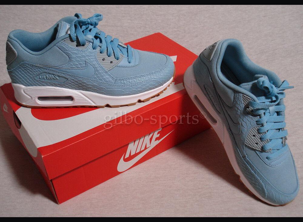 Nike Bir Max 90 Premium WMNS Mica Blue Gr. 37 37,5 38 38,5 41 Neu 896497 400