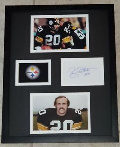 ROCKY-BLEIER-AUTHENTIC-Signed-Autographed-STEELERS-FRAMED-11X14-PHOTO-JSA-PSA