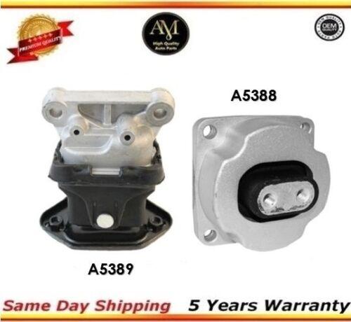 Transmission/& Motor Mount Front Left //Right Set 2.7L 3.5L For Chrysler 2PC
