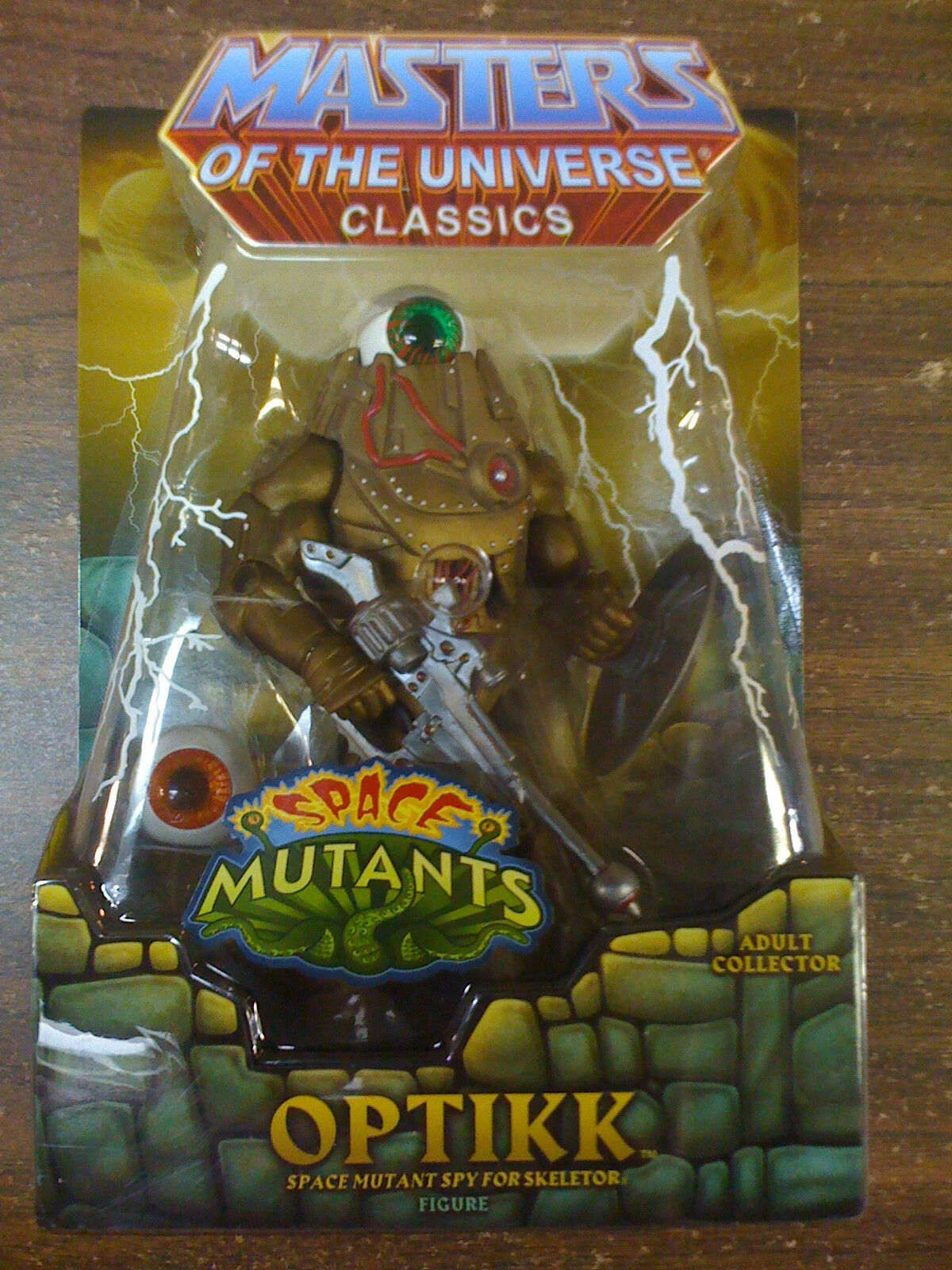 MOTU Classics Mattel Optikk  Ships Worldwide  New