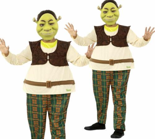 Maschera Ragazzi Deluxe Shrek Costume Bambino film con licenza Costume Libro Day