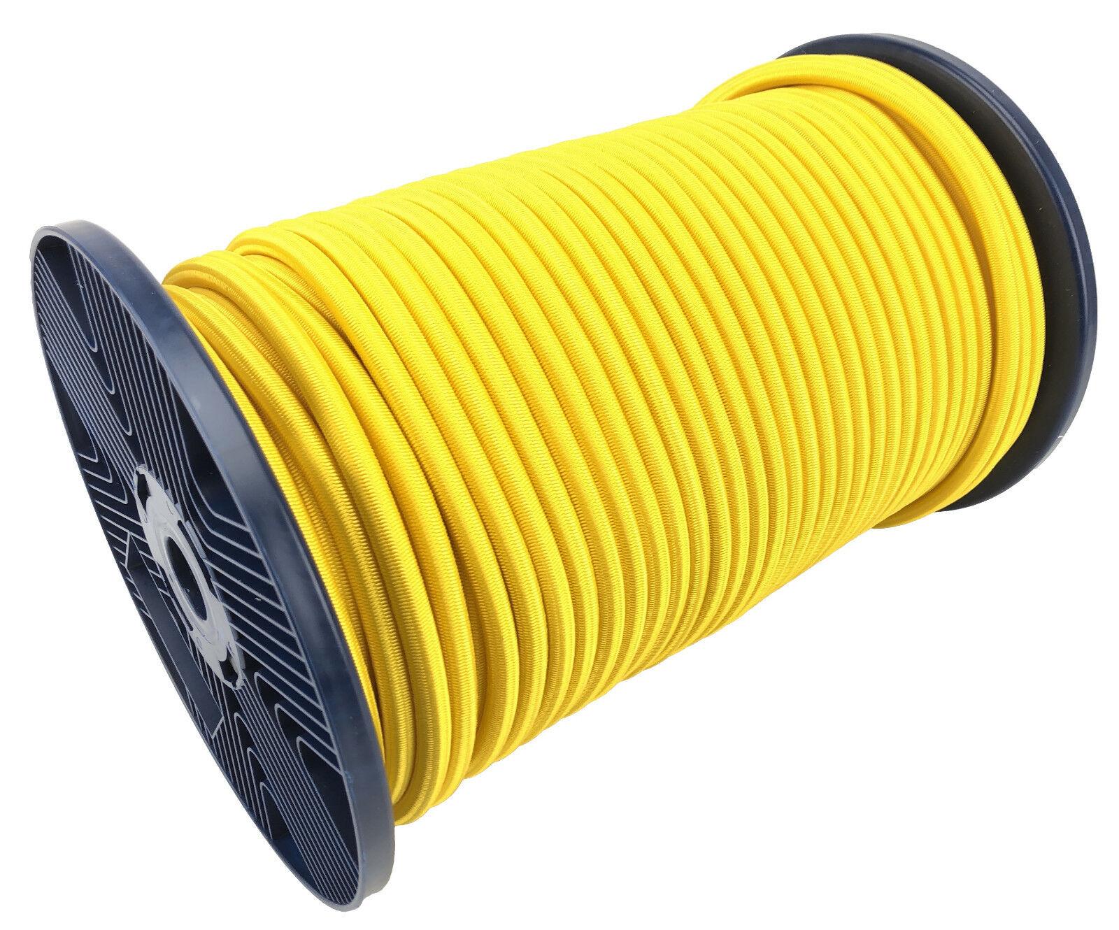 12 mm gelb elastisches Gummi seil. festbinden Gummiseil festbinden seil. x 50 Metre Rolle 2afcb5