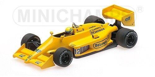Lotus Honda 99t Ayrton Senna Winner Monaco Gp 1987 F1 Formula 1 1 43 Model