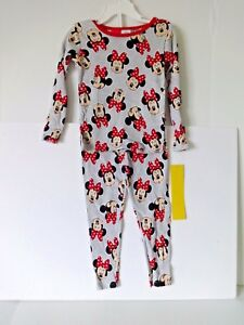 100% True Minnie Mouse Disney Toddler Girls Long Sleeved Pajamas Size 3t Products Are Sold Without Limitations Girls' Clothing (newborn-5t)