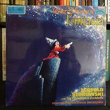 FANTASIA Walt Disney LEOPOLD STOKOWSKI DISNEYLAND UK Original MONO LP Laminated