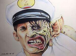 FREAKED-Alex-Winter-Original-Pencil-Drawing-Fan-ART-A4
