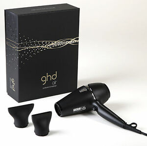 ghd-AIR-Hairdryer-amp-2-Nozzles-New-HAIR-DRYER-in-a-Box-END-OF-SUMMER-SALE