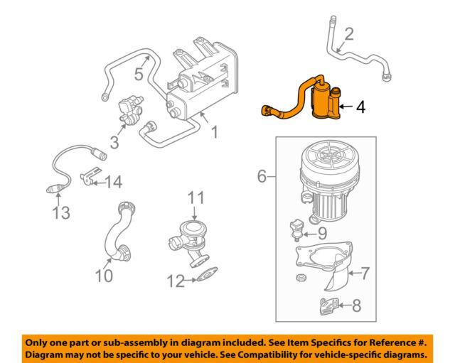 s l640 bmw z4 fuel vapor canister and leak detector pump e85 3 0 2 5 z4 m