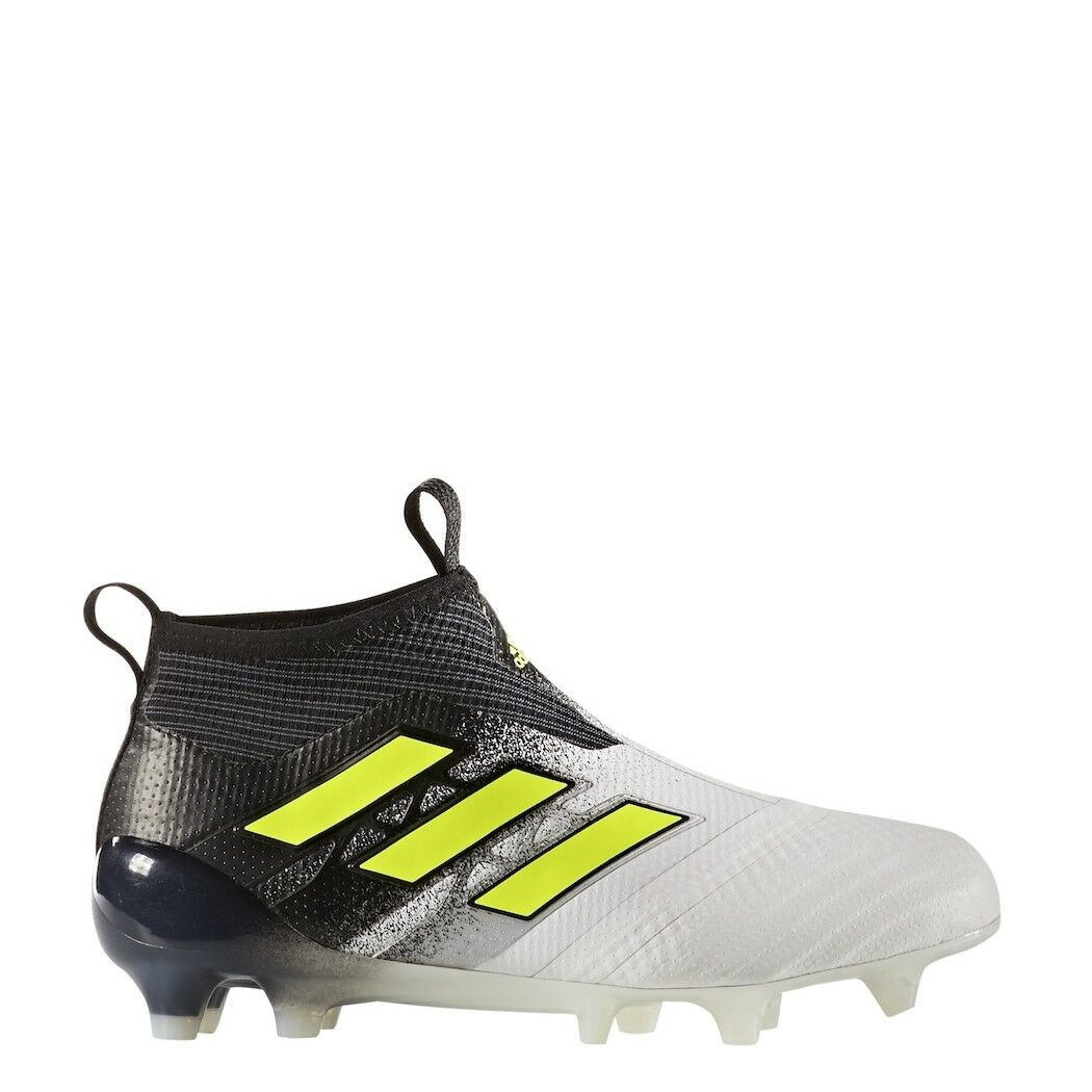 Adidas ACE 17+ PURECONTROL FG Fußballschuhe weiß schwarz Dust Storm