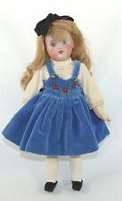 ANTIQUE/VINTAGE BISQUE HEAD SFBJ DOLL, MOLD 60, 11 INCHES, PAINTED EYES