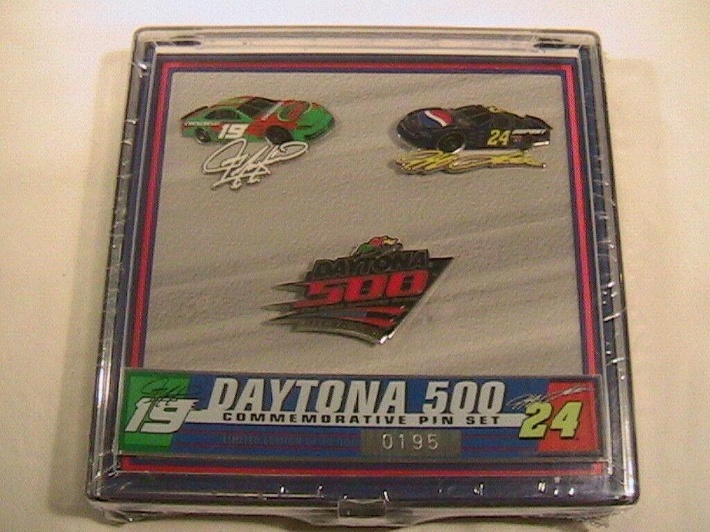 [N17] NEW DAYTONA DAYTONA DAYTONA 500 COMMEMORATIVE PIN SET Feb 16, 2003 of 10,000 83ee65