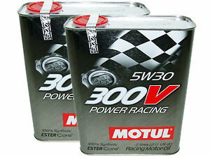 4l qt motul 300v 5w30 power racing 100 synthetic engine oil 337465023986 ebay. Black Bedroom Furniture Sets. Home Design Ideas