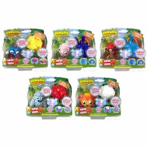 New Moshi Monsters Super Seeds figures Poppet Furi Diavlo Luvli Zommer Official 							 							</span>