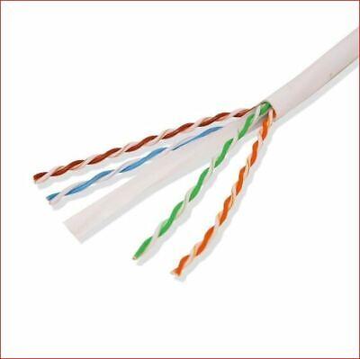 Efficient Cables Bulk Plenum 1000ft Cat5e 100/% Copper Solid UTP 4 Pairs Cable