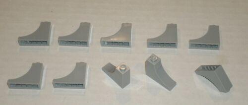 6129340 Brick 18653 10x LEGO NEW 1x3x2 Light Bluish Grey Brick with Inside Bow