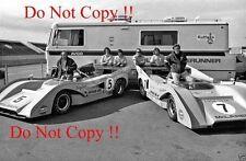 Denny Hulme & Peter Revson Can Am McLaren M8F Portrait 1971 Photograph